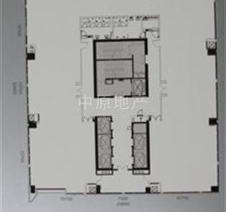 免佣金代理 京基100高楼层 带装修出租看房方便 高清图片
